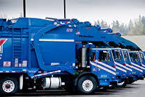 refuse haulers and recycle trucks