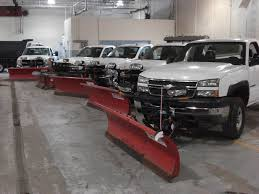 Plowing and maintenance vehicles